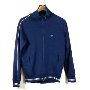 Vintage ACE Brand Blue Full  Zip Size Small